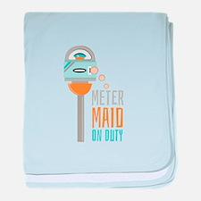 Maid On Duty baby blanket