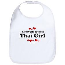 Everyone loves a Thai girl Bib
