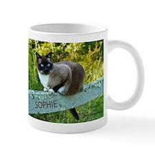 Snowshoe cat Sophie May 2013 Mugs