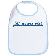 50 years old (sport-blue) Bib