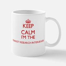 Keep calm I'm the Market Research Interviewer Mugs