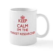 Keep calm I'm the Market Researcher Mugs