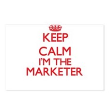Keep calm I'm the Markete Postcards (Package of 8)