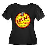 Eagle Ale-1930 Women's Plus Size Scoop Neck Dark T