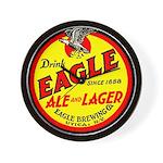 Eagle Ale-1930 Wall Clock