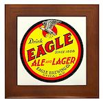 Eagle Ale-1930 Framed Tile