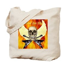 Metal For Life Tote Bag