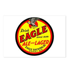 Eagle Ale-1930 Postcards (Package of 8)