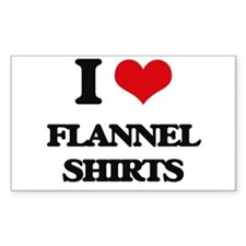 flannel shirts Decal