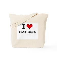flat tires Tote Bag