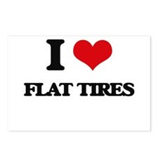 flat tires Postcards (Package of 8)
