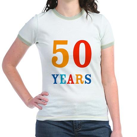 50 Years! Jr. Ringer T-Shirt