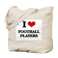 football players Tote Bag