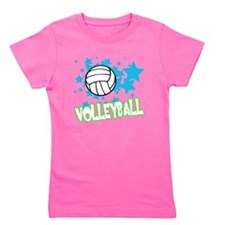 Cute Volleyball coach Girl's Tee