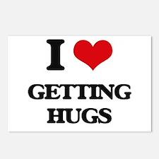 getting hugs Postcards (Package of 8)