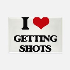 getting shots Magnets
