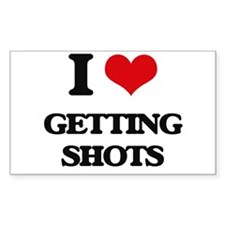 getting shots Decal