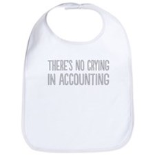 No Crying In Accounting Bib
