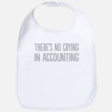 No Crying In Accounting Bib