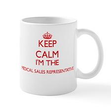 Keep calm I'm the Medical Sales Representativ Mugs