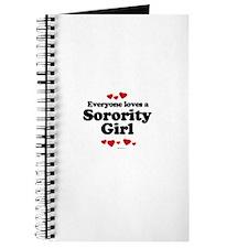 Everyone loves a Sorority girl Journal