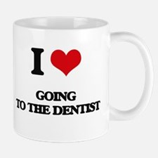 going to the dentist Mugs