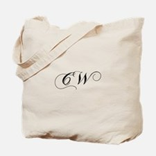 CW-cho black Tote Bag