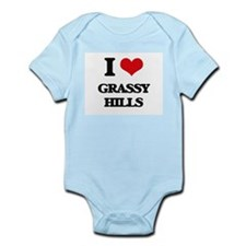 grassy hills Body Suit