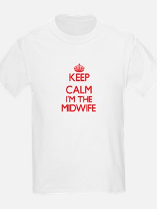 Keep calm I'm the Midwife T-Shirt