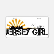 Jersey Girl Aluminum License Plate