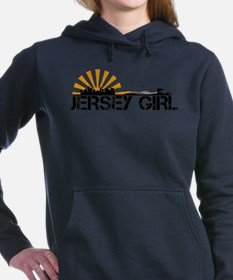 Jersey Girl Women's Hooded Sweatshirt