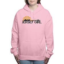 Jersey Girl Women's Hooded Sweatshirt