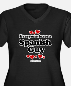 Everyone loves a spanish guy Women's Plus Size V-N