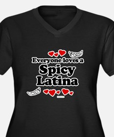 Everyone loves a spicy latina Women's Plus Size V-
