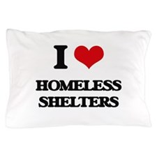 homeless shelters Pillow Case