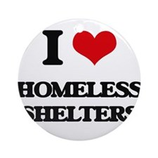 homeless shelters Ornament (Round)