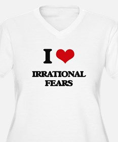 irrational fears Plus Size T-Shirt