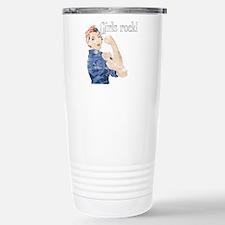 Unique Girl power Travel Mug