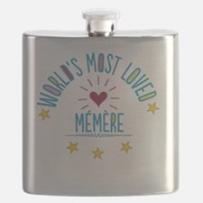 World's Most Loved Memere Flask