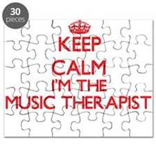 Keep calm I'm the Music Therapist Puzzle