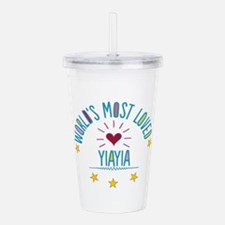 World's Most Loved Yi Acrylic Double-wall Tumbler