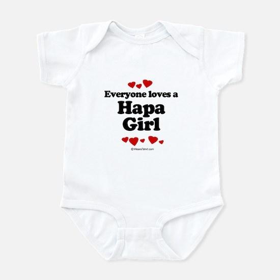 Everyone loves a Hapa girl Infant Bodysuit
