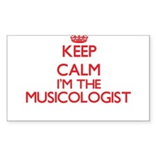 Keep calm I'm the Musicologist Decal