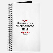 Everyone loves a Vietnamese girl Journal