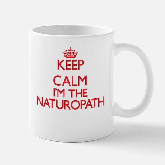 Keep calm I'm the Naturopath Mugs