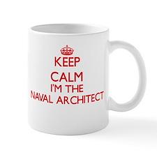 Keep calm I'm the Naval Architect Mugs