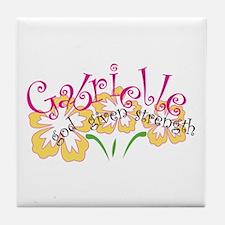 Gabrielle Tile Coaster