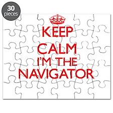 Keep calm I'm the Navigator Puzzle