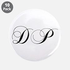 "DP-cho black 3.5"" Button (10 pack)"