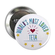 "World's Most Loved Teta 2.25"" Button"